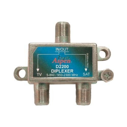 JAYBRAKE Eagle Aspen D2200 Directv(Tm)-Listed Single Diplexer 500249 by Jaybrake (Single Diplexer)