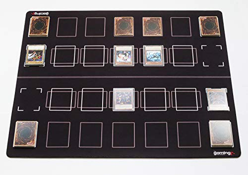 - GMC Deluxe 2 Player Compatible Duel Duelling Yu-Gi-Oh Yugioh TCG Mat Board Playmat