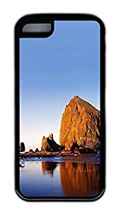 for iphone 4/4s Case Landscapes Beach 4 TPU for iphone 4/4s Case Cover Black