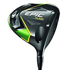 The new Epic Flash driver employs a new Callaway technology called Flash Face to help golfers get more ball speed for more distance. Flash Face's sophisticated architecture was created by Artificial Intelligence – the first known instance of ...