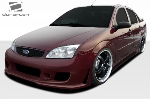 2005-2007 Ford Focus HB Duraflex B-2 Body Kit - 4 Piece - Includes B-2 Front Bumper Cover (106859) B-2 Side Skirts Rocker Panels (106860) Evo Rear Bumper Cover ()