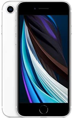 Apple iPhone SE, 128GB, White - Fully Unlocked (Renewed)