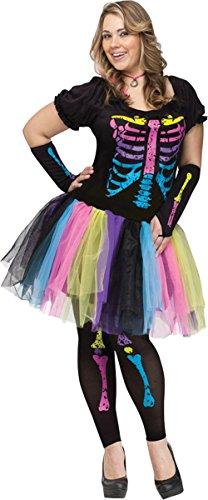 [Morris Costumes Funky Punk Bones Adult Medium Large] (Funky Punk Bones Adult Costumes)