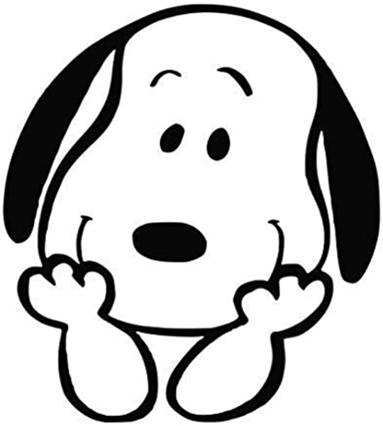 Amazon Com Peanut Comic Strip 5 5 Tall Snoopy Smiling Head Silhouette Die Cut Decal Sticker For Laptop Car Window Tablet Skateboard Black Color Kitchen Dining Download 170,256 silhouette head images and stock photos. peanut comic strip 5 5 tall snoopy