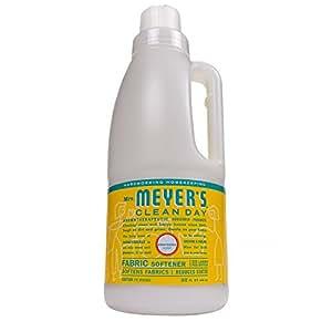 Mrs. Meyer's Clean Day Fabric Softener, Honeysuckle, 32 fl oz