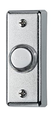 NuTone PB69LBL Wired Lighted Door Chime Push Button