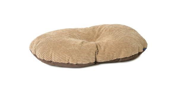 Amazon.com: Sleepy Paws Oval Cojín Timberwolf 23.6 x 19.7 ...