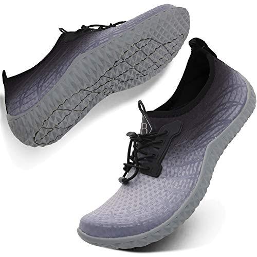 کفش ورزشی ورزشی مردانه Spesoul Womens Water Outdoor ، کفش خشک و خاموش پیراهن ورزشی آکوا برای ورزش در ساحل شنا استخر شنا گشت و گذار یوگا