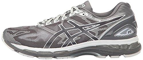 ASICS Men's Gel-Nimbus 19 Running Shoe, Carbon/White/Silver, 10 M US by ASICS (Image #5)