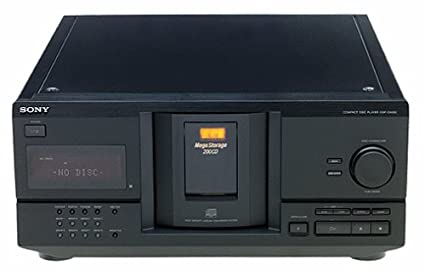 amazon com sony cdp cx230 megastorage 200 cd changer discontinued rh amazon com Sony 300 MegaStorage Sony 300 CD Player Problems