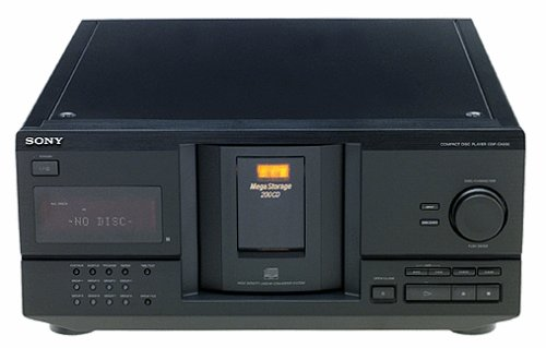 amazon com sony cdp cx230 megastorage 200 cd changer discontinued rh amazon com Sony 300 Disc Changer sony 300 disc cd changer - cdp-cx355 manual