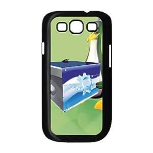 3ddesktop linu17 Samsung Galaxy S3 9300 Cell Phone Case Black yyfD-031685