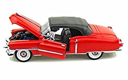 1953 Cadillac Eldorado Convertible Red 1/24 by Welly 22414 by Welly