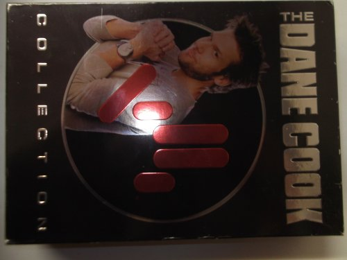 The Dane Cook Collection Dvd + Cd Set, Dane Cook Vicious Cycle, Dane Cook's Tourgasm and Dane Cook Vicious Cycle Double Disc Concert Cd