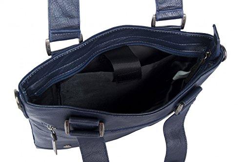 bandolera hombre bolsa AF6 Bandolera porta azul plana RONCATO tablet Ea7qP