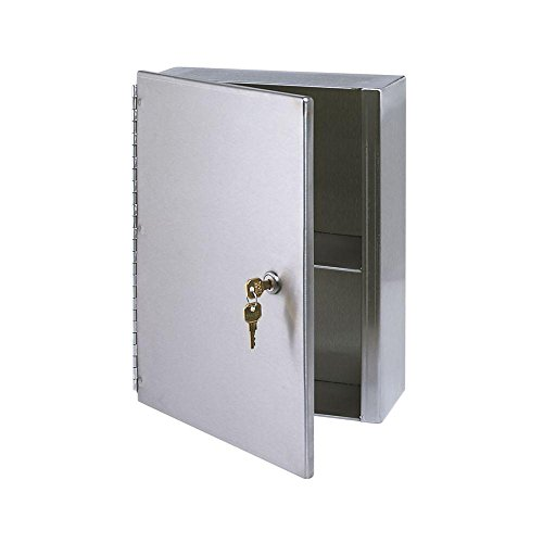Royce Rolls Surface-Mounted Stainless Steel Medicine Cabinet 10.5