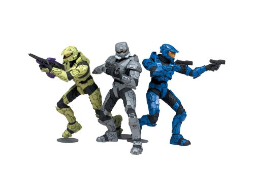 McFarlane Toys Halo 2009 Heroic Collection Lone Wolves Set 1