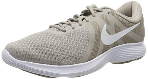 Mens Running Shoes Uk - Nike Revolution 4 EU Mens Running Trainers Aj3490 Sneakers Shoes (UK 8 US 9 EU 42.5, Moon Particle White 202)