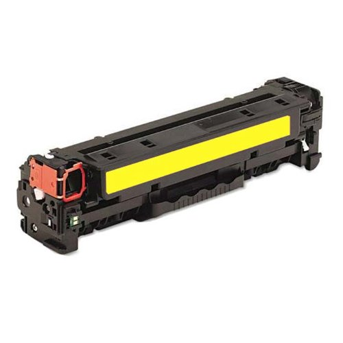 HI-VISION HI-YIELDS ® Compatible Toner Cartridge Replacement for Hewlett-Packard (HP) 128A CE322A (Yellow), Office Central