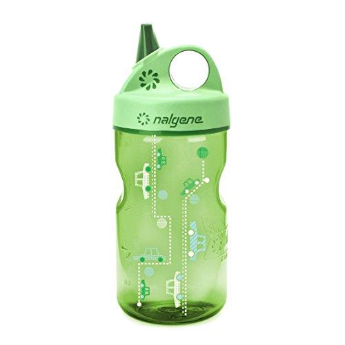 Nalgene 'Everyday Grip-n-Gulp' - 0,35 L, grün, Motiv Autos
