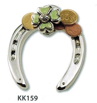 Affordable ferro di cavallo argento con coccinella e soldi - Cucine a ferro di cavallo ...