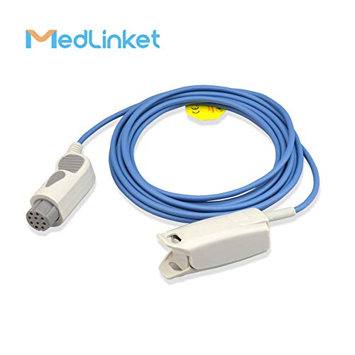 - Datex Ohmeda TS-F4-N Compatible Reusable SpO2 Adult Finger Clip Sensor, 3M