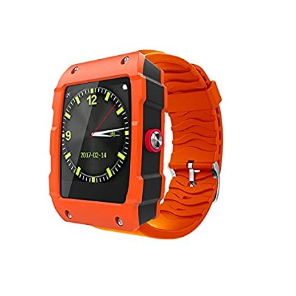 Amazon.com: techcomm V18 y GSM Unlocked Smartwatch con ...