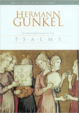 Introduction to Psalms: The Genres of the Religious Lyric of Israel