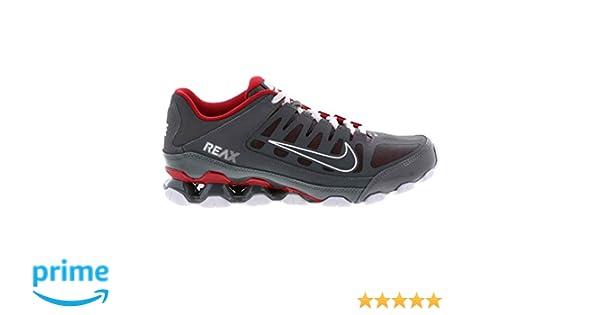 Nike Reax 8 TR Mesh Men Dark Grey Gym Red Cross Training Running Shoe 621716 013