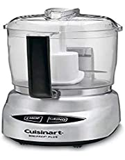 Cuisinart CGC-4PCFR 4-Cup Mini Prep Food Processor Silver (Renewed)