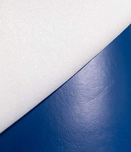 1/4'' Foam Backed Marine Vinyl Upholstery Fabric Dark Blue 54'' Wide by 5 Yards Boat Auto by Bry-Tech Marine1 (Image #4)