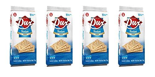 DUX Sodas Galletas bolsa 7.6 oz (Paquete de 4): Amazon.com ...