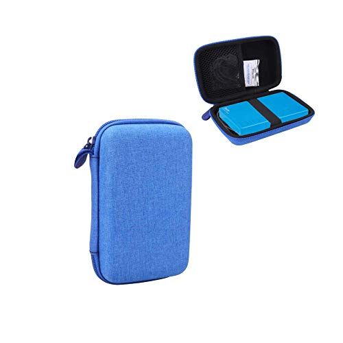 Aenllosi Hard Carrying Case for Polaroid Mint Instant Camera & Printer (Blue)