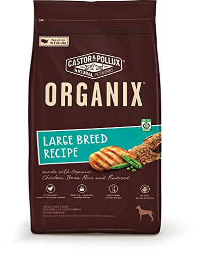 Organix Large Breed Recipe Dry Dog Food, 25-Pound