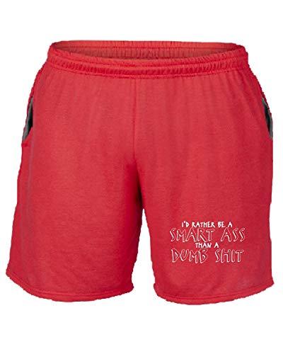 shirtshock Tuta Shit Pantaloncini Rosso Trk0819 T Dumb 8qRWavawH