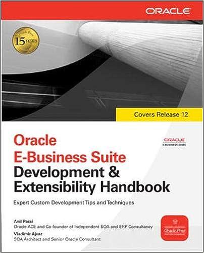 Oracle E-Business Suite Financials Handbook 3/E (Oracle Press)