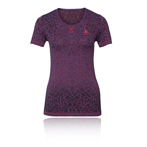 Red shirt Evolution Odlo Energy Bl Cn Blackcomb Blue Top Sport De Femme Fiery Ss Light T Zwrq8dUwx