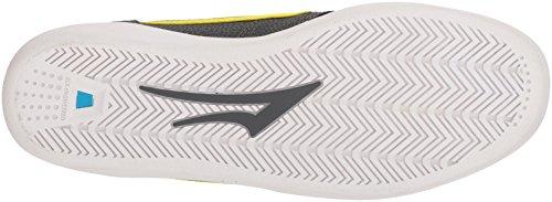 Lakai Griffin Xlk Chaussure De Skate Anthracite / Citron Vert Nubuck