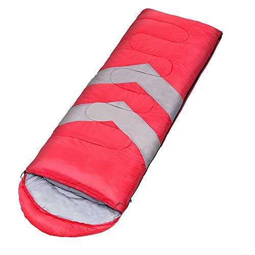 Schlafsack Umschlag Ultraleicht dünner Mumienschlafsäcke (90+30(75CM Hüttenschlafsack leicht, Ideal für Backpacking, Hostels und Hütten