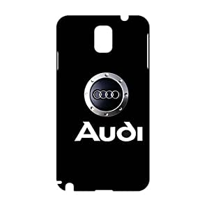 Fortune Luxury cars logo Audi Phone case for Samsung Galaxy note3