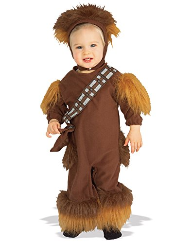 Aliens Costume With Baby (Chewbacca EZ-On Romper Baby Infant Costume - Toddler)