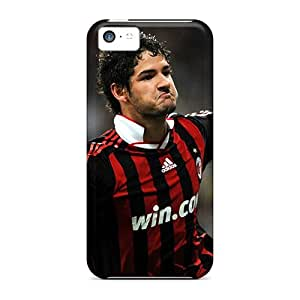 Defender Cases For Iphone 5c, Soccer Ac Milan Alexandre Pato Pattern