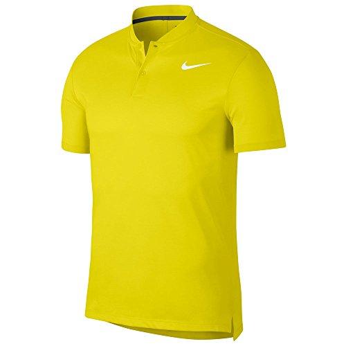 Blade Strap Herren Poloshirt Dry Nike Slim White Electrolime OTPx8v