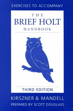 Brief Holt Handbook Exercise Manual
