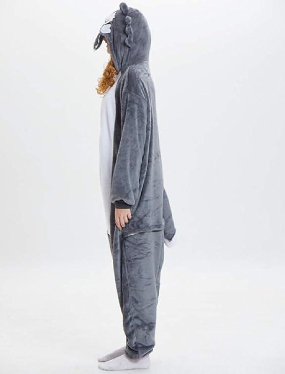 Amazon.com: ZHANGZHIYUA - Pajamas de franela para adulto ...