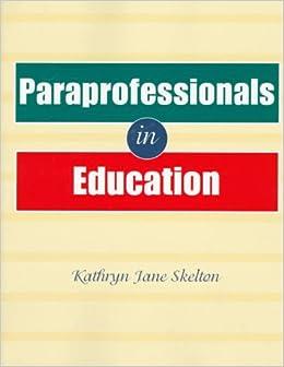 Paraprofessionals in Education
