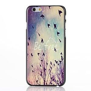 Cubierta Posterior - Gráfico/Diseño Especial/Innovador - para iPhone 6 ( Multicolor , Plástico )