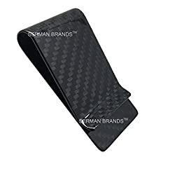 Carbon Fiber Money Clip - Genuine 3K Weave - Fits Up To 15 Cards Strong and Lightweight Glossy