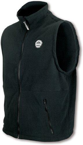 Ergodyne Core - Ergodyne CORE Performance Work Wear 6443 Fleece Vest, Gray, Medium