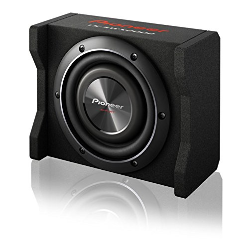 Pioneer TS-SWX2002 8'' Shallow-Mount Pre-Loaded Enclosure by PIONEER